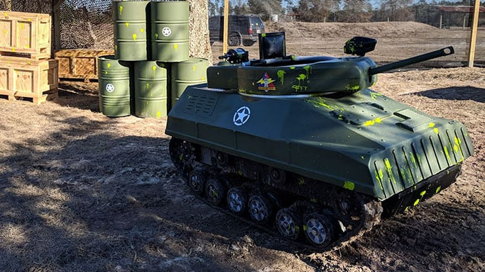 savannah paintball and tank driving experience the