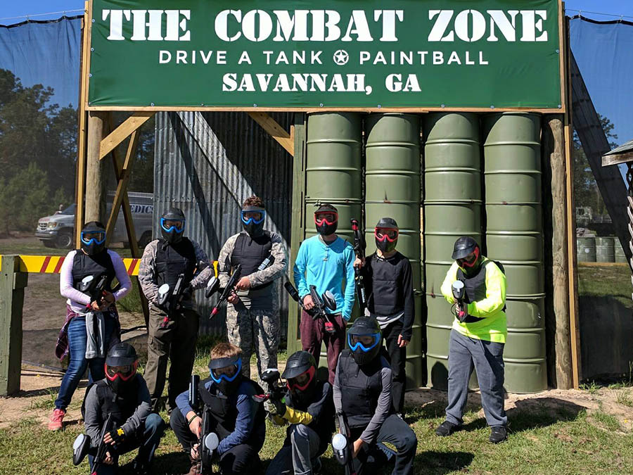 Birthday Parties | Paintball and Tank Driving Savannah, GA | The Combat Zone