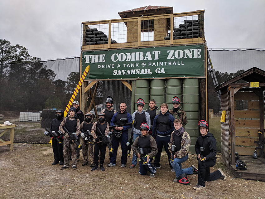 Corporate Groups and Parties | The Combat Zone Savannah GA