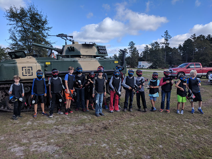 Mini Paintball Tanks Savannah GA | The Combat Zone