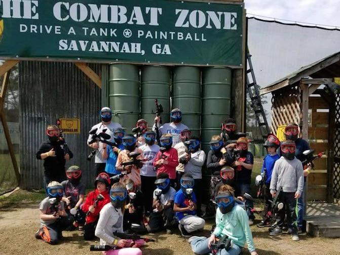 Paintball Savannah GA | The Combat Zone